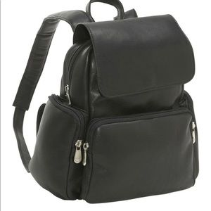 NWT Le Donne 100% Leather Backpack